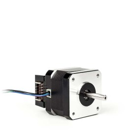 Hybridstegmotor med encoder